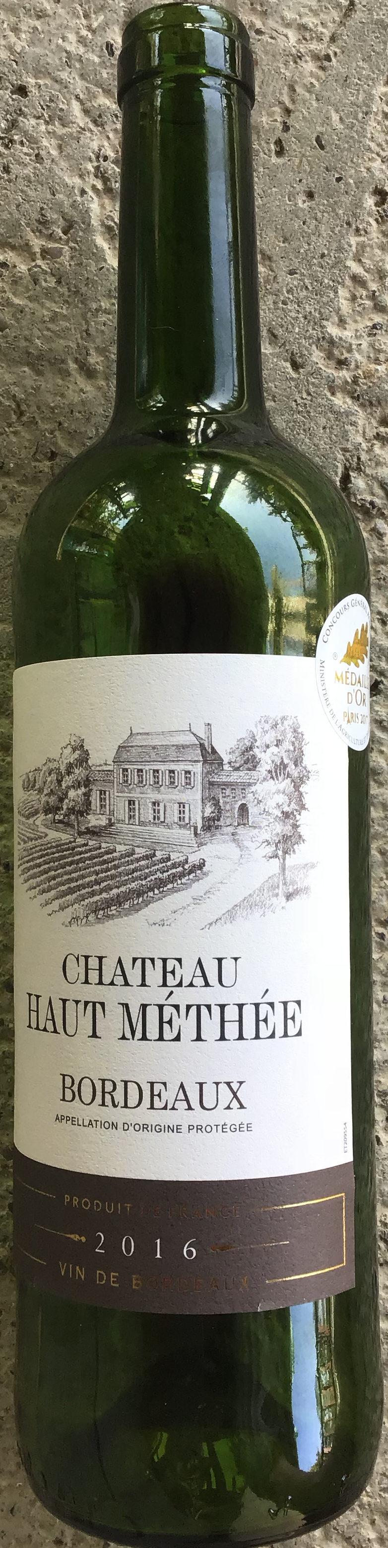 Bordeaux 2016 - Produit