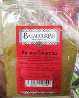 Épices Colombo - Produit