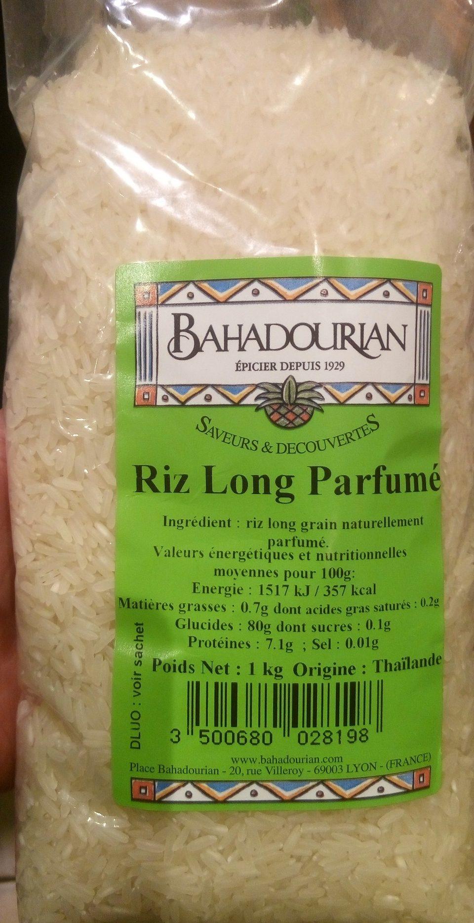 Riz long parfumé - Produit - fr