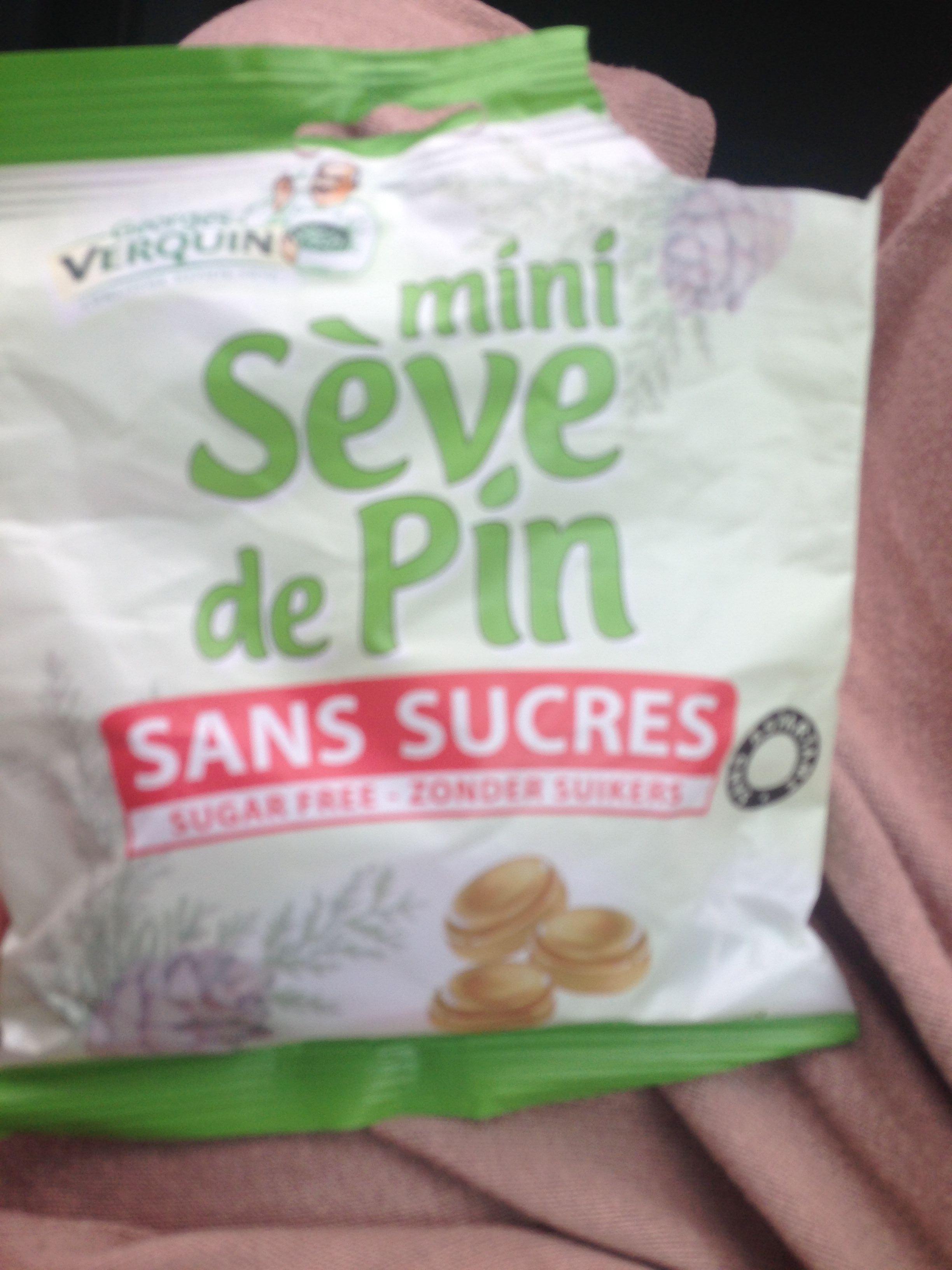 Mini sève de pin sans sucre - Product
