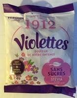 Violettes sans sucres Stévia - Product - fr