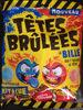 Têtes brûlées fraise/framboise - Produit