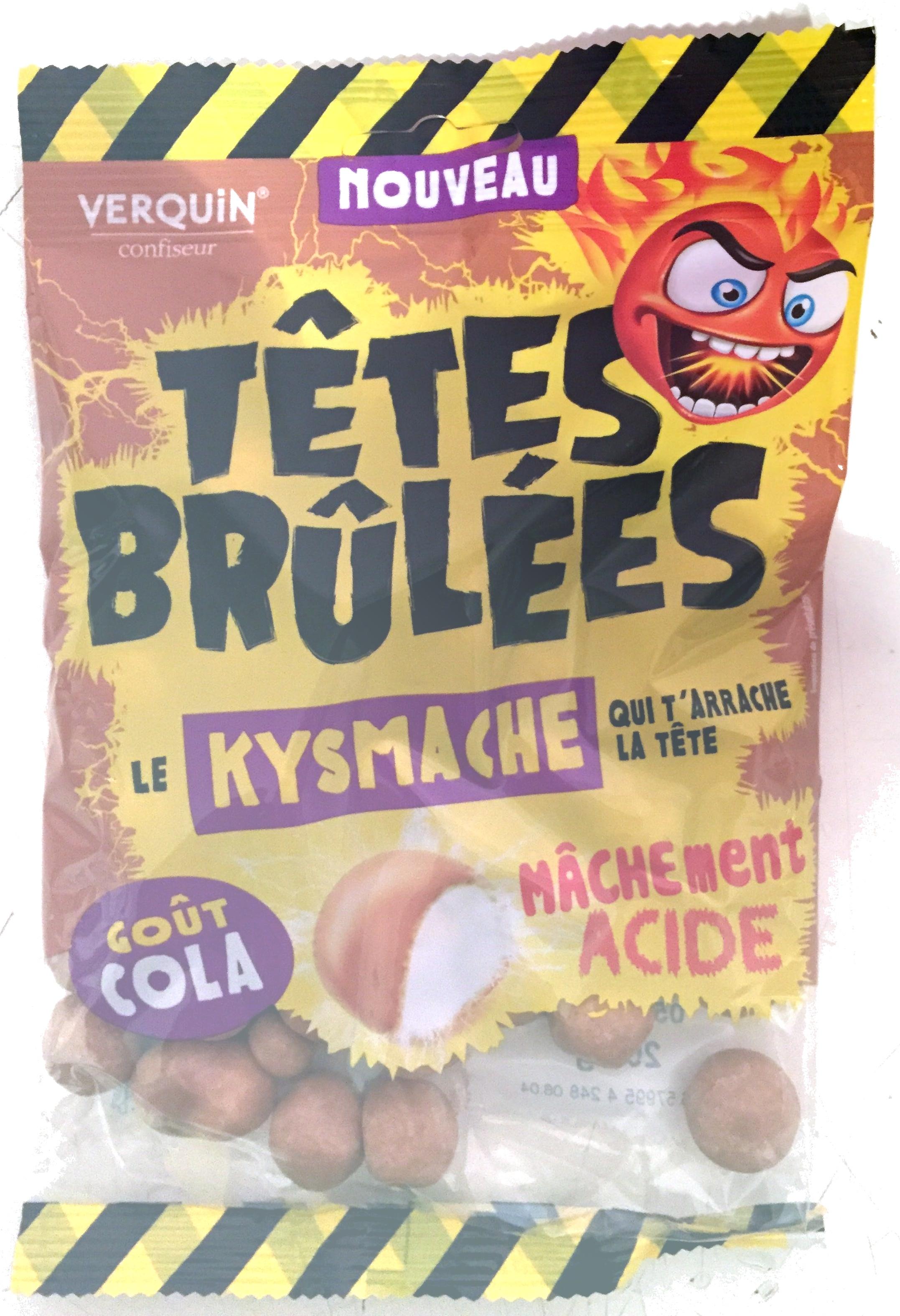 T tes br l es le kysmache go t cola verquin 200g - Acide citrique leclerc ...