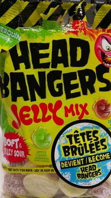 Verquin Head Bangers Jelly Mix 12X100G - Product