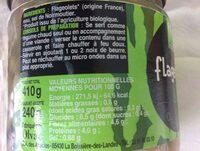 Flageolets - Ingrédients - fr