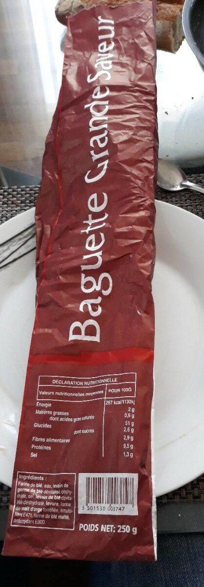 Baguette grande saveur - Prodotto - fr