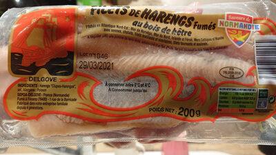 Filets de hareng fumés - Product - fr