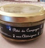 Pate De Campagne Breton Aux Chataignes - Produit