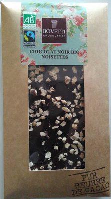 Chocolat noir bio noisettes - Product
