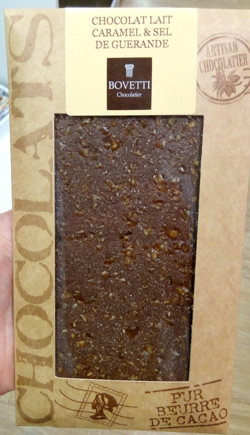 Chocolat lait caramel & sel de Guérande - Product
