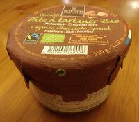 Pâte à tartiner Bio noisettes chocolat noir - Produit - fr