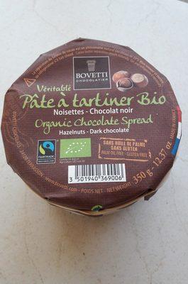 Véritable pâte à tartiner bio - Ingrédients - fr