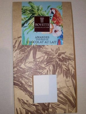 Amandes enrobees de chocolat au lait - Produit
