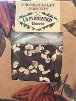 Chocolat au lait noisettes - Product - fr