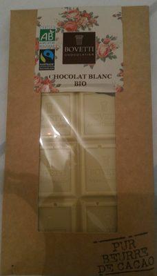 Chocolat blanc bio - Product - fr