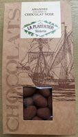 Amandes enrobées de Chocolat Noir - Produit