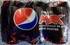 Pepsi Max (zéro sucres) - Produit