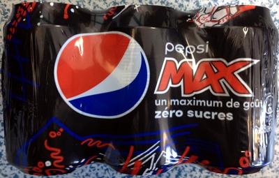 Pepsi Max (zéro sucres) - Produit - fr