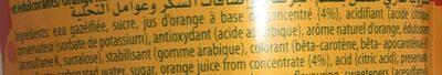 Blle Pet 2L Mirinda Orange - Ingrédients - fr