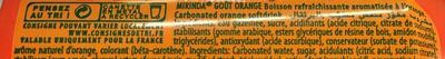 Goût Orange - Ingrédients - fr
