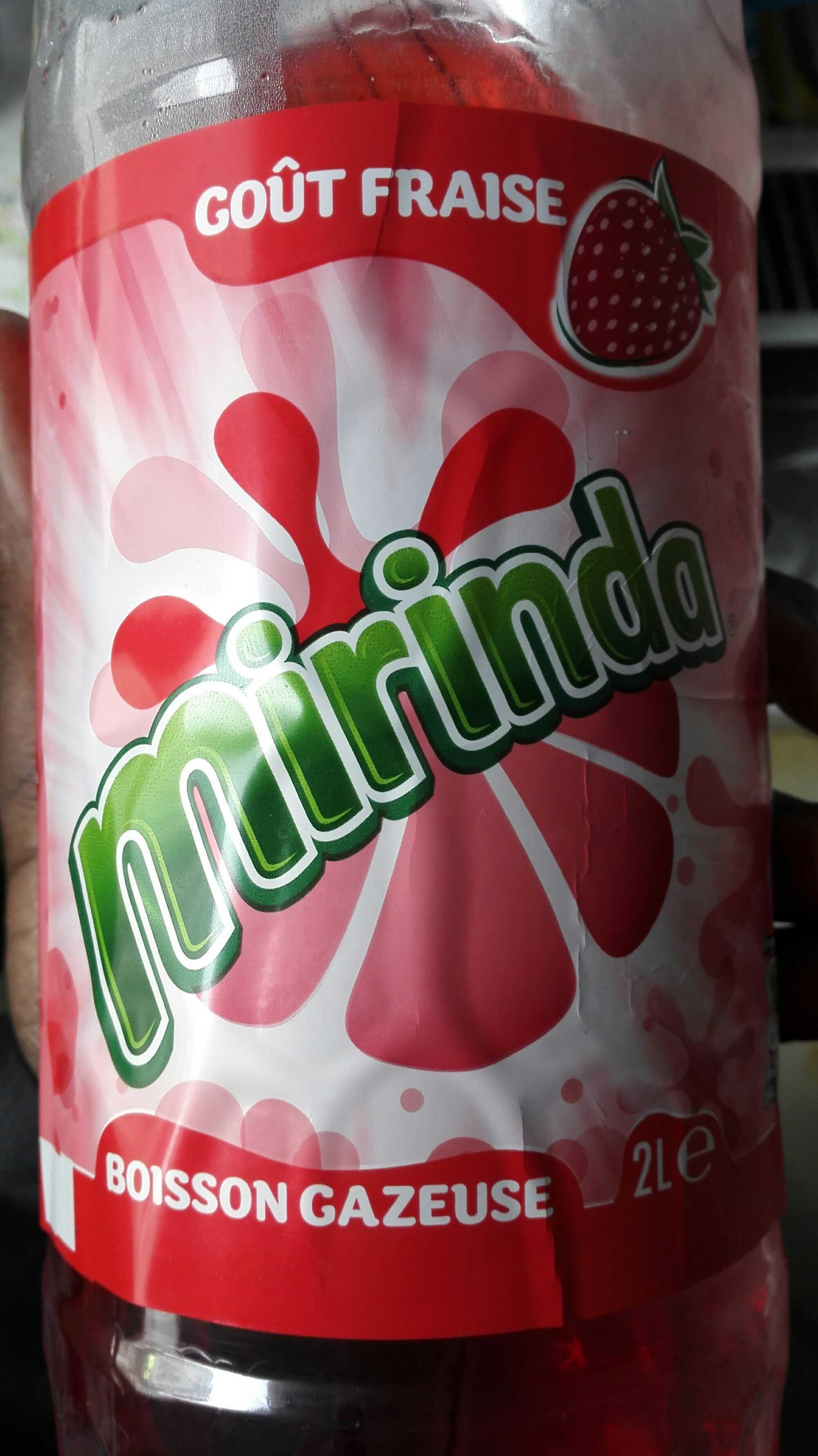 Mirinda goût fraise - Produit - fr