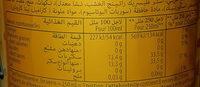 Mirinda Boisson gazeuse goût ananas 2 L - Valori nutrizionali - fr