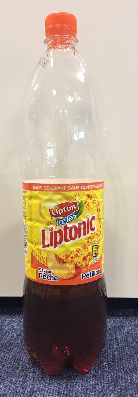 Lipton Liptonic pétillant saveur pêche 1,5 L - Produit - fr