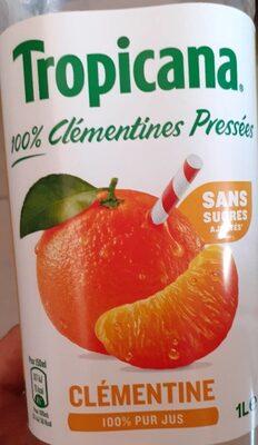 Tropicana Pure premium clémentine pressée 1 L - Product - fr