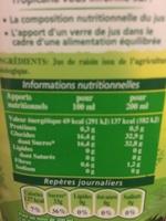 Récoltes Bio Jus de Raisin bio - Produit - fr