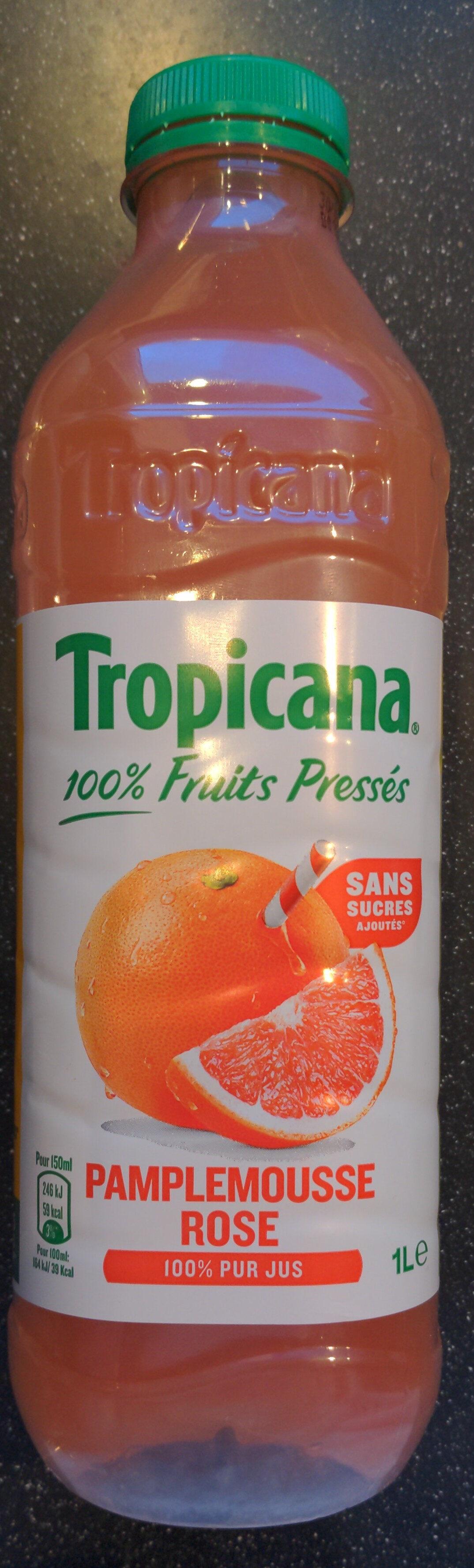 Tropicana Pure premium pamplemousse rose 1 L - Produit - fr