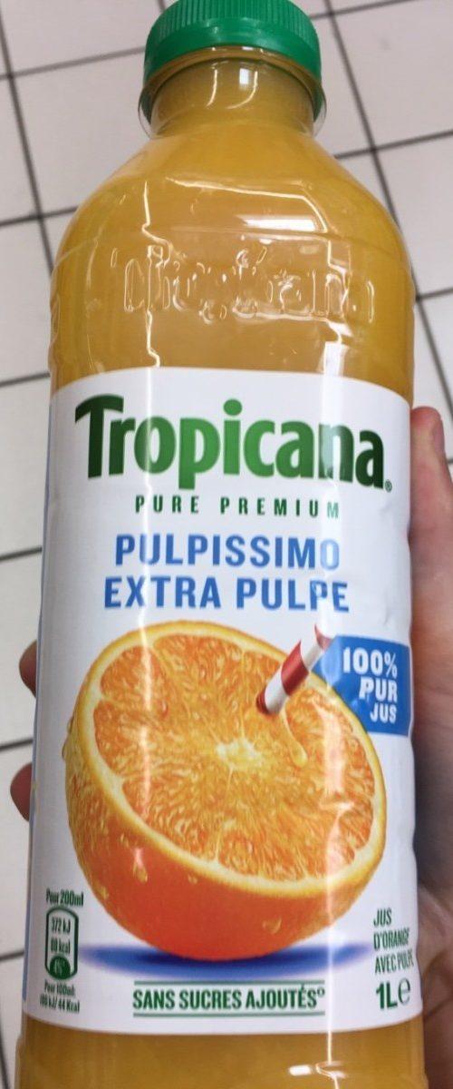 Jus d'orange 100% pulpe Tropicana - Produit - fr