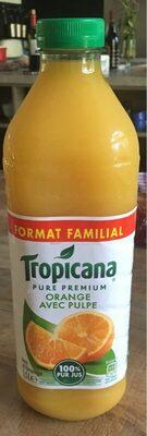 Pure Premium Orange avec Pulpe - Produit