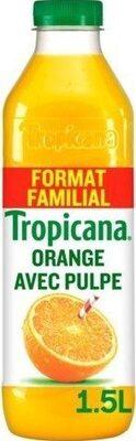 Jus d'orange avec pulpe format familial - Produit - fr
