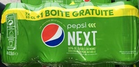 Pepsi Next (+1 boîte gratuite) - Product - fr