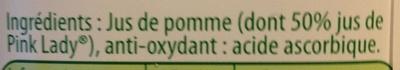 Pure Premium Pommes douces - Ingredients - fr