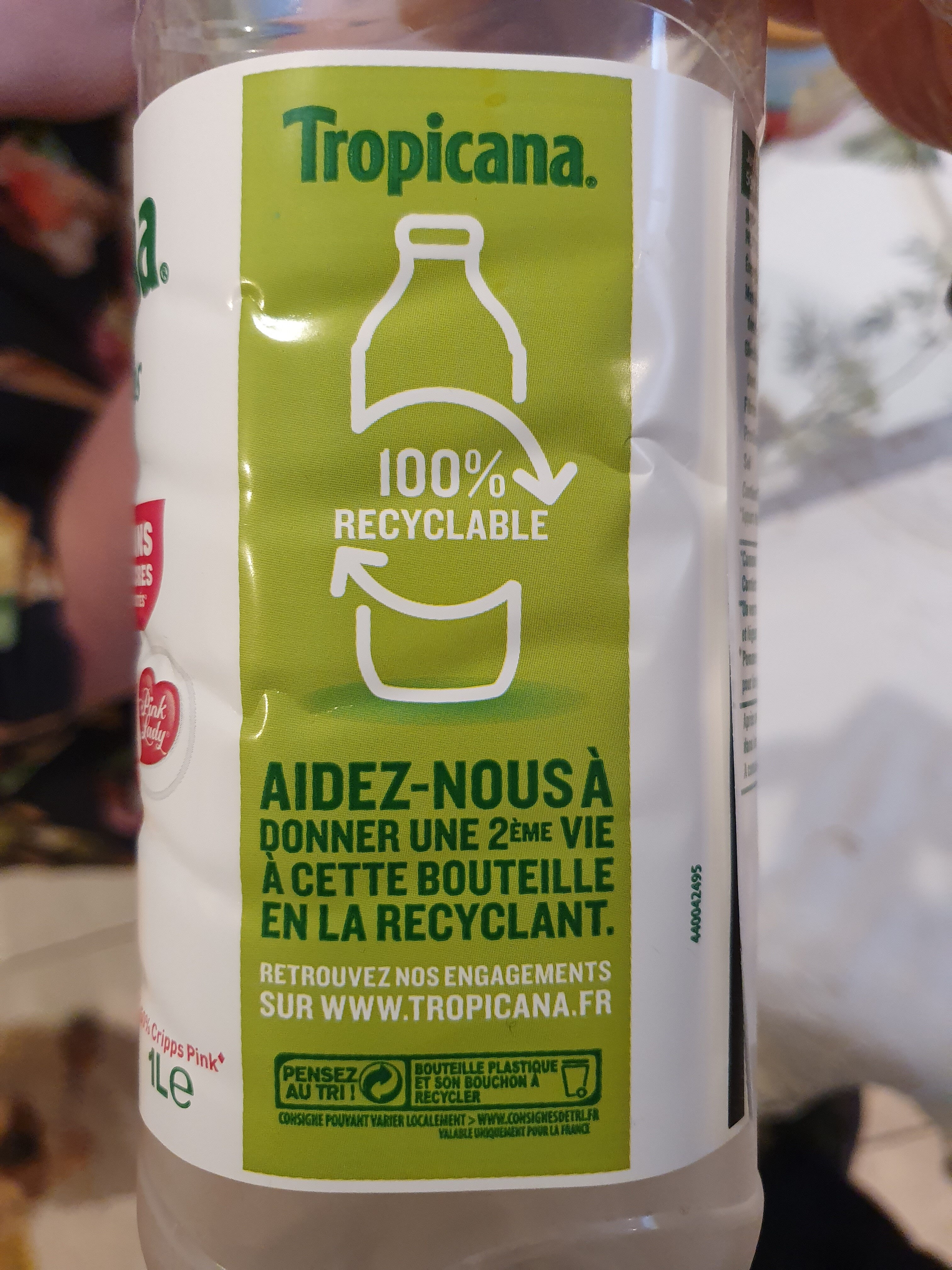 Pure Premium Pommes douces - Recycling instructions and/or packaging information - fr