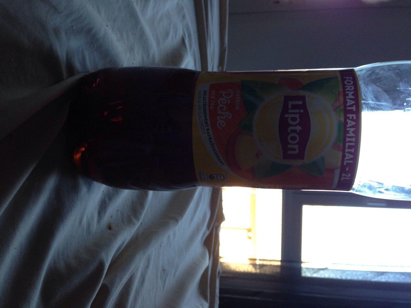 Lipton Ice Tea saveur pêche format familial 2 L - Valori nutrizionali - fr