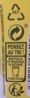 Ice Tea saveur pêche - Istruzioni per il riciclaggio e/o informazioni sull'imballaggio - fr