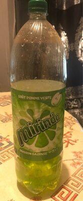 Mirinda Boisson gazeuse goût pomme verte 2 L - Valori nutrizionali - fr