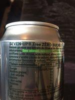 7UP Free 6 x 33 cl - Ingredienti - fr
