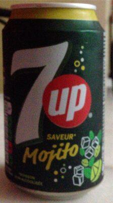 7UP saveur mojito 33 cl - Produit - fr