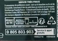 7UP saveur mojito - Instruction de recyclage et/ou informations d'emballage - fr