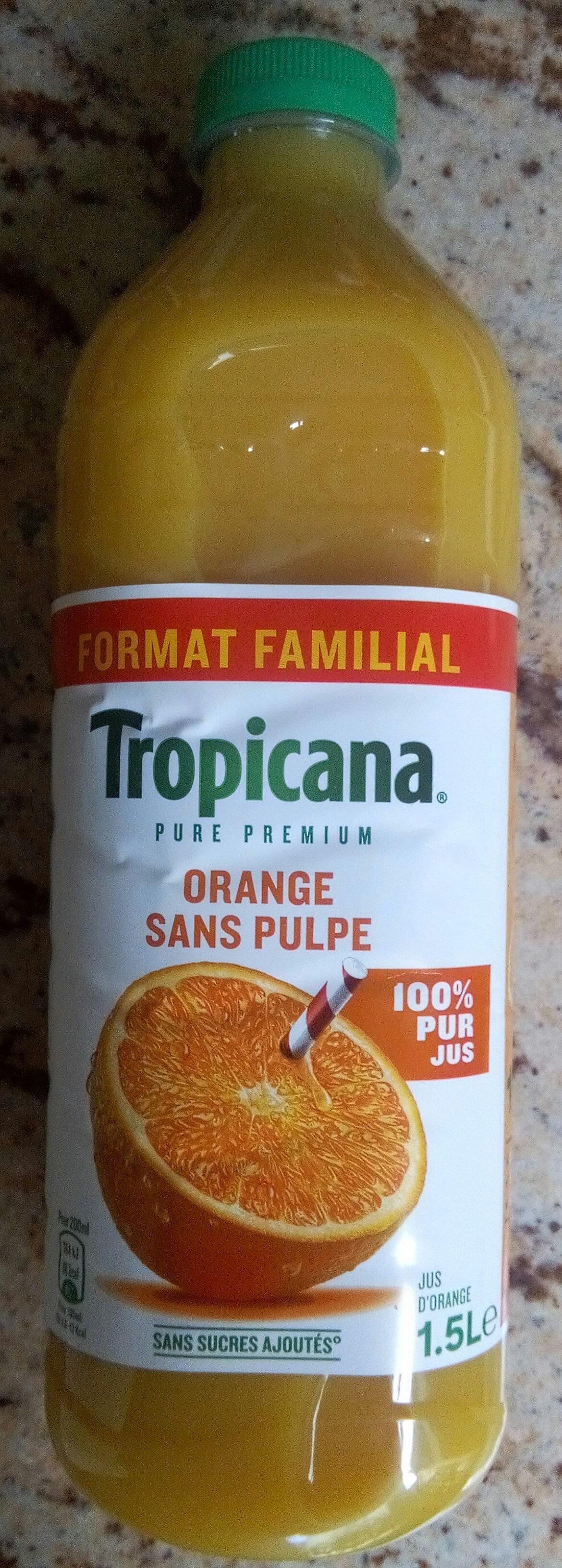 Jus d'orange Pur Premium sans pulpe - Prodotto - fr