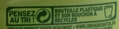 Jus d'orange Pur Premium sans pulpe - Instruction de recyclage et/ou information d'emballage - fr