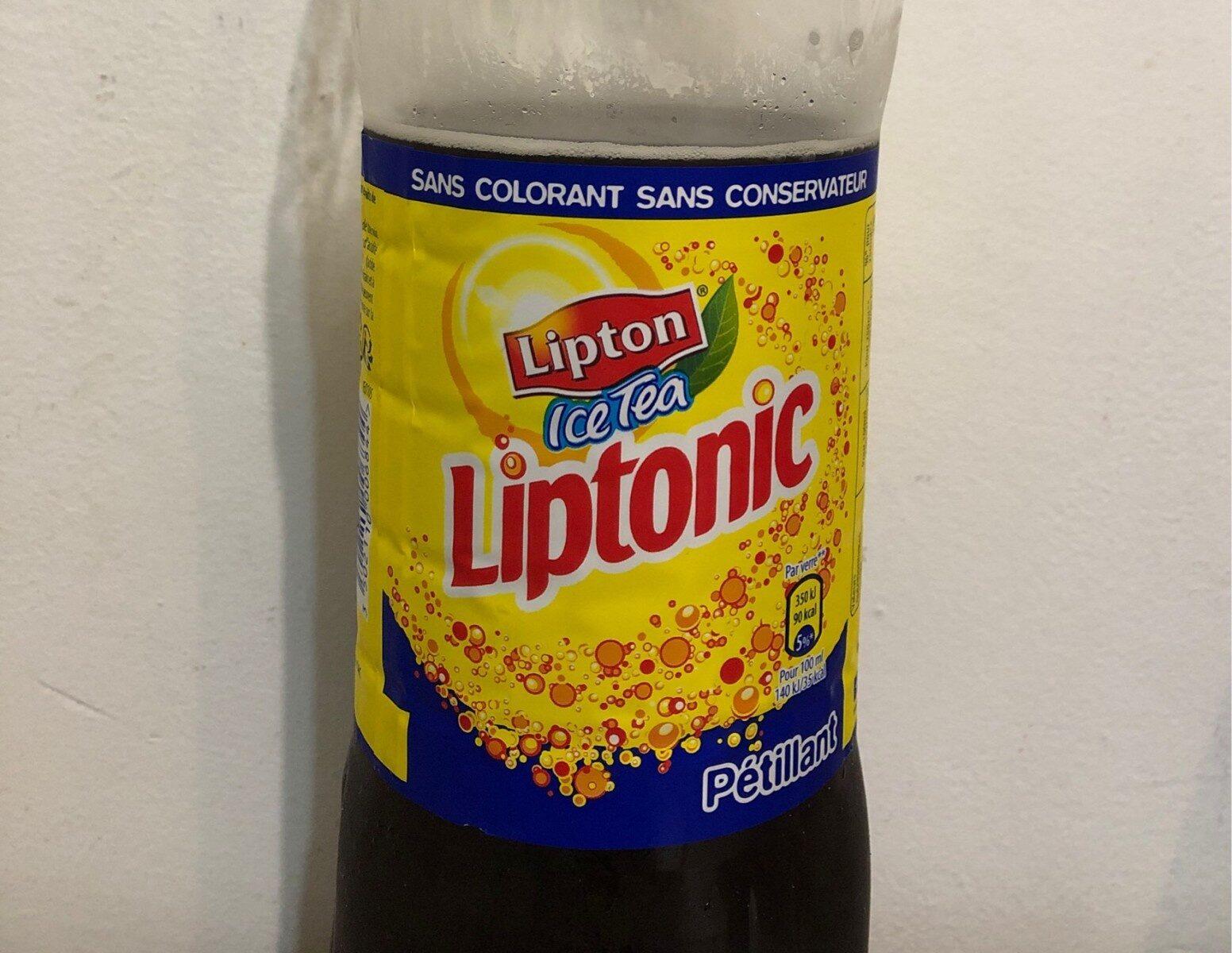 Lipton Liptonic pétillant 1,5 L - Produit - fr