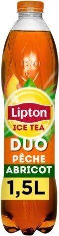 Lipton Ice Tea duo saveur pêche abricot 1,5 L - Prodotto - fr