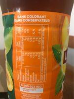 Lipton Ice Tea duo saveur pêche abricot 1,5 L - Valori nutrizionali - fr