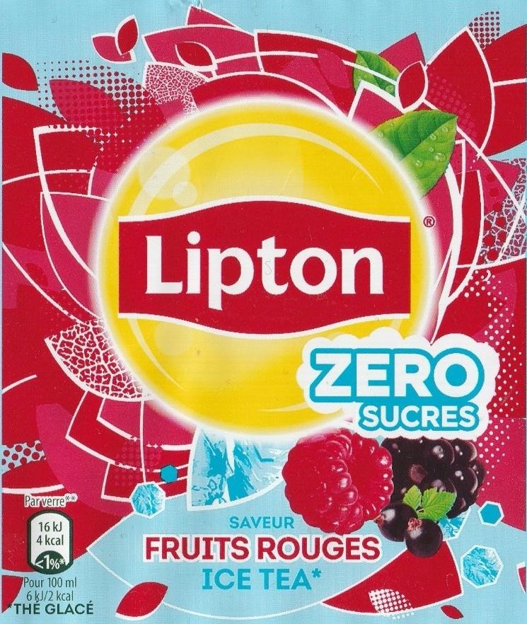 Thé glacé saveur fruits rouge - Product - fr