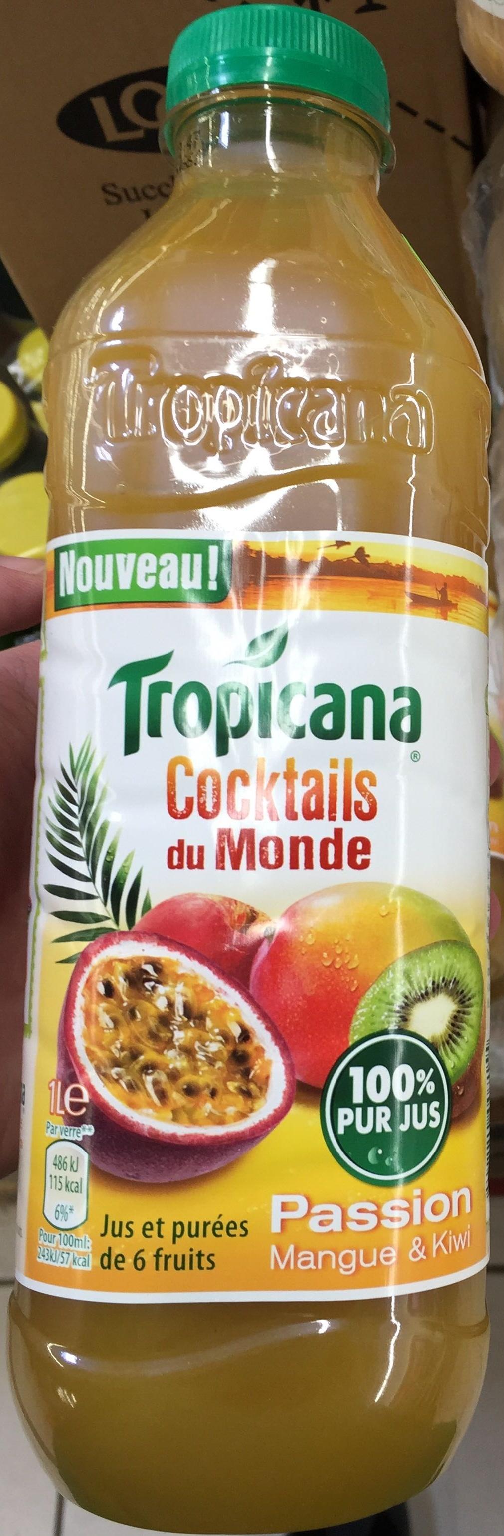 Cocktails du Monde Passion Mangue & Kiwi - Product - fr