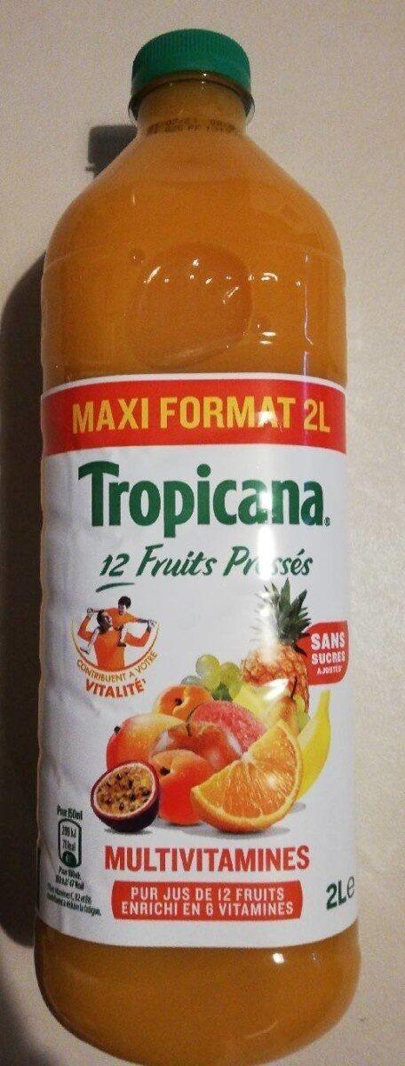 Tropicana Multivitaminés 12 fruits - Prodotto - fr